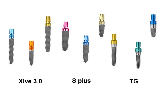 Виды имплантов XiVE